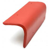 Päätyreunatiili Ormax tupapunainen
