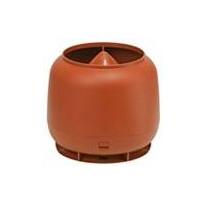 Tuuletusputken hattu Ormax 110 mm savitiilenpunainen