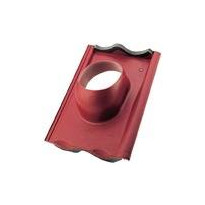 Läpivientitiili Ormax savitiilenpunainen