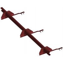Lumiestepaketti Ormax 1-putk. 3 m tupapunainen