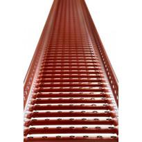 Kattosiltapaketti Ormax 3 m tupapunainen