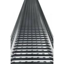 Kattosiltapaketti Ormax 3 m tummanharmaa
