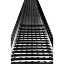 Kattosiltapaketti Ormax 3 m musta