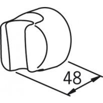Käsisuihkun seinäkiinnike Oras 251500-11 valkoinen
