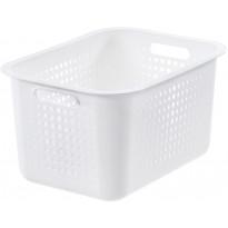 Säilytyskori SmartStore Basket Recycled 20, valkoinen