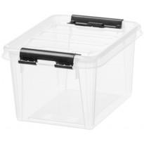Säilytyslaatikko SmartStore Classic 1,5, läpinäkyvä