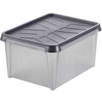 Vedenkestävä säilytyslaatikko SmartStore Dry 15, antrasiitti