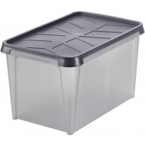 Vedenkestävä säilytyslaatikko SmartStore Dry 45, antrasiitti