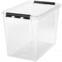 Säilytyslaatikko SmartStore Classic 65, läpinäkyvä