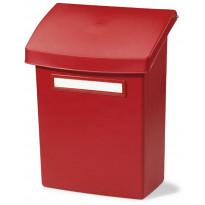 Postilaatikko Orthex välikannella, punainen