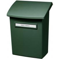 Postilaatikko Orthex välikannella, vihreä