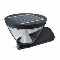 Aurinkokenno seinävalaisin Osram Endura Style Lantern Solar 5W, harmaa