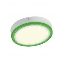 LED-paneelivalaisin Osram Led Color White Rd 300mm 28W + kaukosäädin, valkoinen