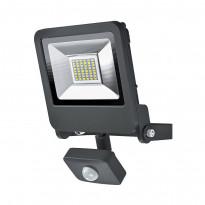 LED-seinävalaisin Osram Endura Flood Sensor 30W 830, harmaa