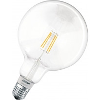 LED-älylamppu Osram Smart+ HomeKit Filament Globe 50 DIM, E27
