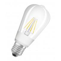 LED-älylamppu Osram Led Star+ Cl Edison 60 Glow Dim 7W/827 E27