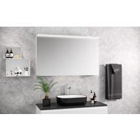 Peilikaappi Otsoson Luvia 1200, LED-valolippa, 1200x725x225mm, valkoinen