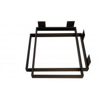 Pöydänjalka Pihlaja J9, 720x550mm, 2 kpl, musta