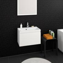 Kylpyhuoneryhmä Aava 600, 600x350mm, eri värivaihtoehtoja