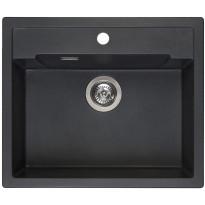 Keittiöallas Otsoson Reginox Amsterdam 54, 600x510mm, musta