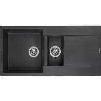 Keittiöallas Otsoson Reginox Amsterdam 15, 1000x500mm, musta