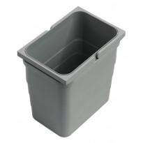 Jäteastia Otsoson kylpyhuoneryhmien alalaatikkoon, sisältää kannen