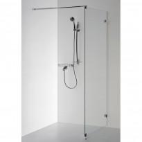 Suihkuseinä Helmi, 70x210cm, kehyksetön, Verkkokaupan poistotuote