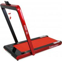 Kävelymatto Trekkrunner, 10.5km/h, kokoontaittuva, kaukosäätimellä, punainen