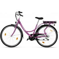 """Sähköpyörä Lyfco 28"""" Elinor, 250W, 7 vaihdetta, vaaleanpunainen"""