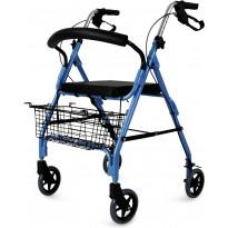 Rollaattori Lyfco CA861L, sininen, 7kg, sisä- ja ulkokäyttöön
