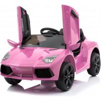Lasten sähköauto Lyfco, 12V, 2x25W, pinkki
