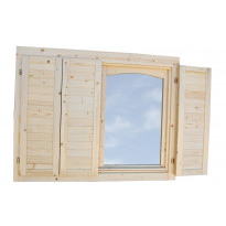 Ikkunaluukku Palmako ikkunalle 70mm
