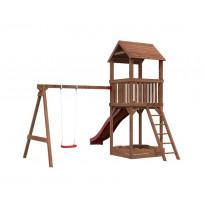 Leikkikeskus Palmako Jesper 2, leikkitorni+hiekkalaatikko, keinuosa