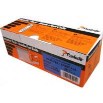 Naulakaasupakkaus Paslode IM50F18 viimeistely 38X1,2 sinkitty valkoinen kanta 2000 kpl/pkt
