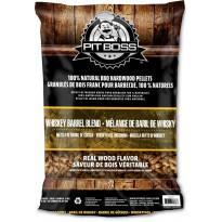 Pellettisekoitus Pitt Boss Whiskey Barrel Blend, 9kg