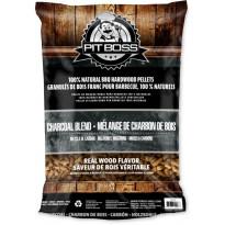 Pellettisekoitus Pit Boss Charcoal Blend, 9kg