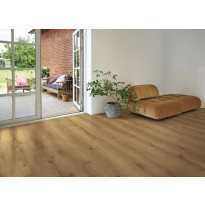 Laminaatti Living Expression, Wide Long Plank, 4V, Sensation Chateu, tummanruskea, tammi, lauta