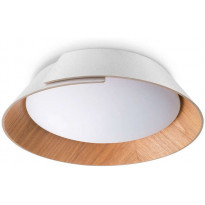 LED-kattovalaisin Philips Nonagon, ø50,5cm, valkoinen