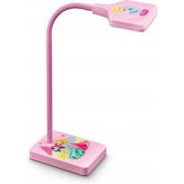 LED-työpöytävalaisin Disney Prinsessat, vaaleanpunainen
