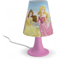 LED-pöytävalaisin Disney Prinsessat, vaaleanpunainen