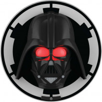 3D-seinävalaisin Disney Star Wars Darth Vader, musta