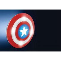 3D-seinävalaisin Disney Kapteeni Amerikka
