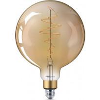 LED-jättipallolamppu Philips Vintage, E27, G200, 6,5W, kulta