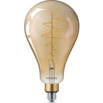 LED-lamppu Philips Vintage, Edison, E27, A160, 6,5W, kulta