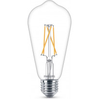 LED-lamppu Philips WarmGlow, Edison, E27, 8,5W, kirkas
