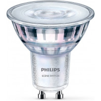 LED-spottilamppu Philips SceneSwitch, GU10, 5W