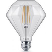 LED-lamppu Philips Classic, Diamond, 40W, E27, 2700K, D, kirkas