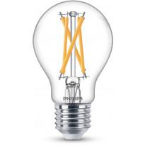 LED-polttimo Philips, 7W, E27, 806lm, 2200-2700K, himmennettävä
