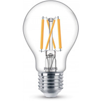 LED-polttimo Philips, 5W, E27, 470lm, kirkas, 2200-2700K, himmennettävä