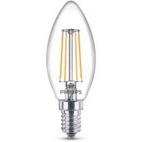 LED-polttimo Philips, kynttilä, 2700K, 4.3W, E14, 3kpl